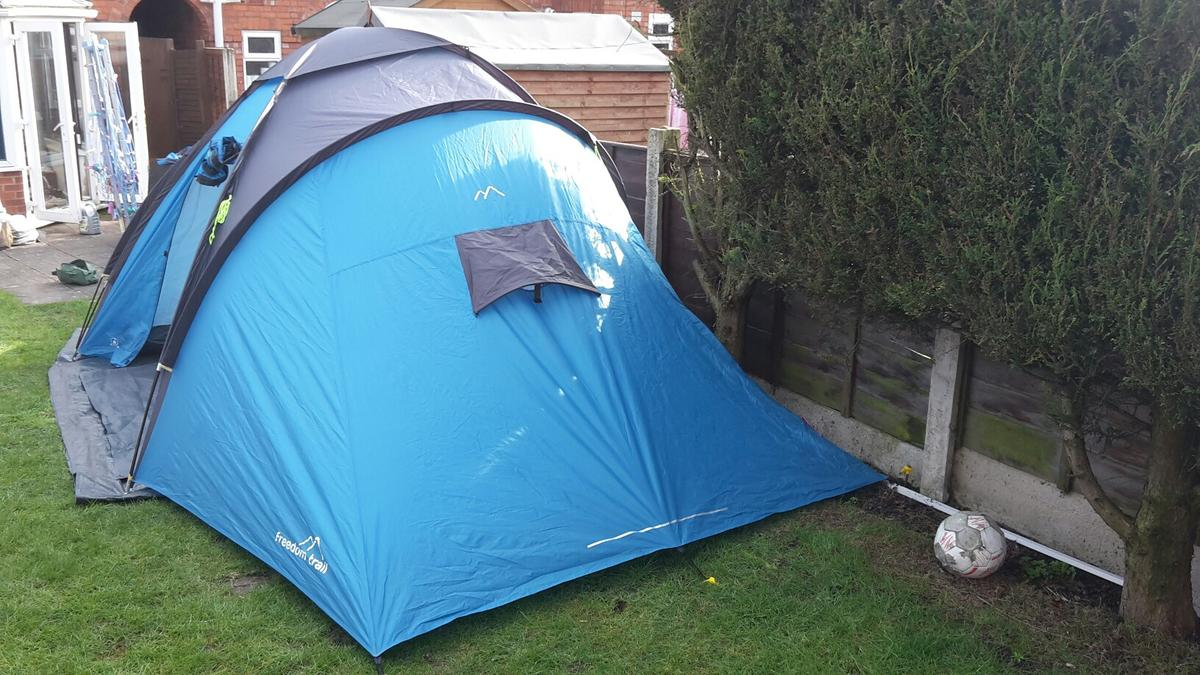 Description. Sierra 6 freedom trail 6 berth tent ... & 6 berth sierra freedom trail tent in LE10 Bosworth for £50.00 for ...