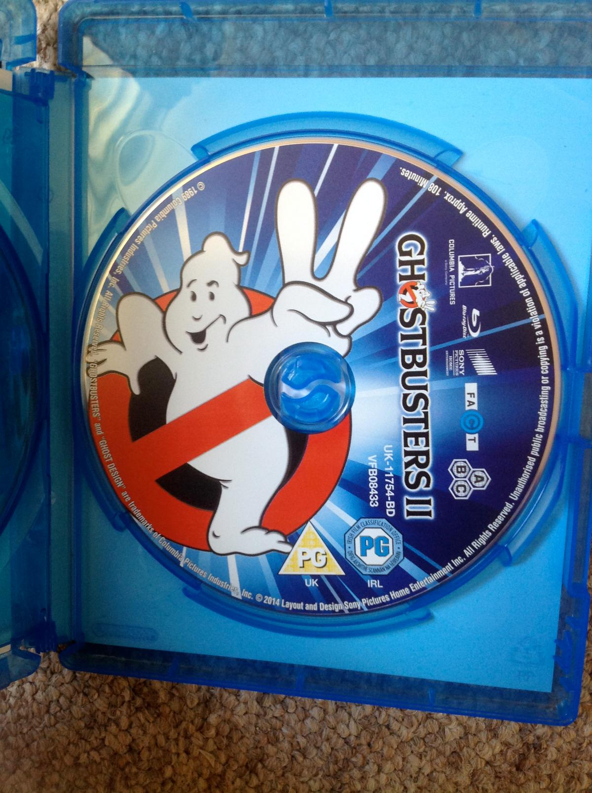 GHOSTBUSTERS 1 & 2 - Blu ray in CB10 Cambridgeshire for