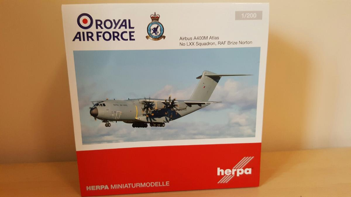 model aircraft 1/200 Airbus a400m RAF in GL10 Stroud for £45 00 for