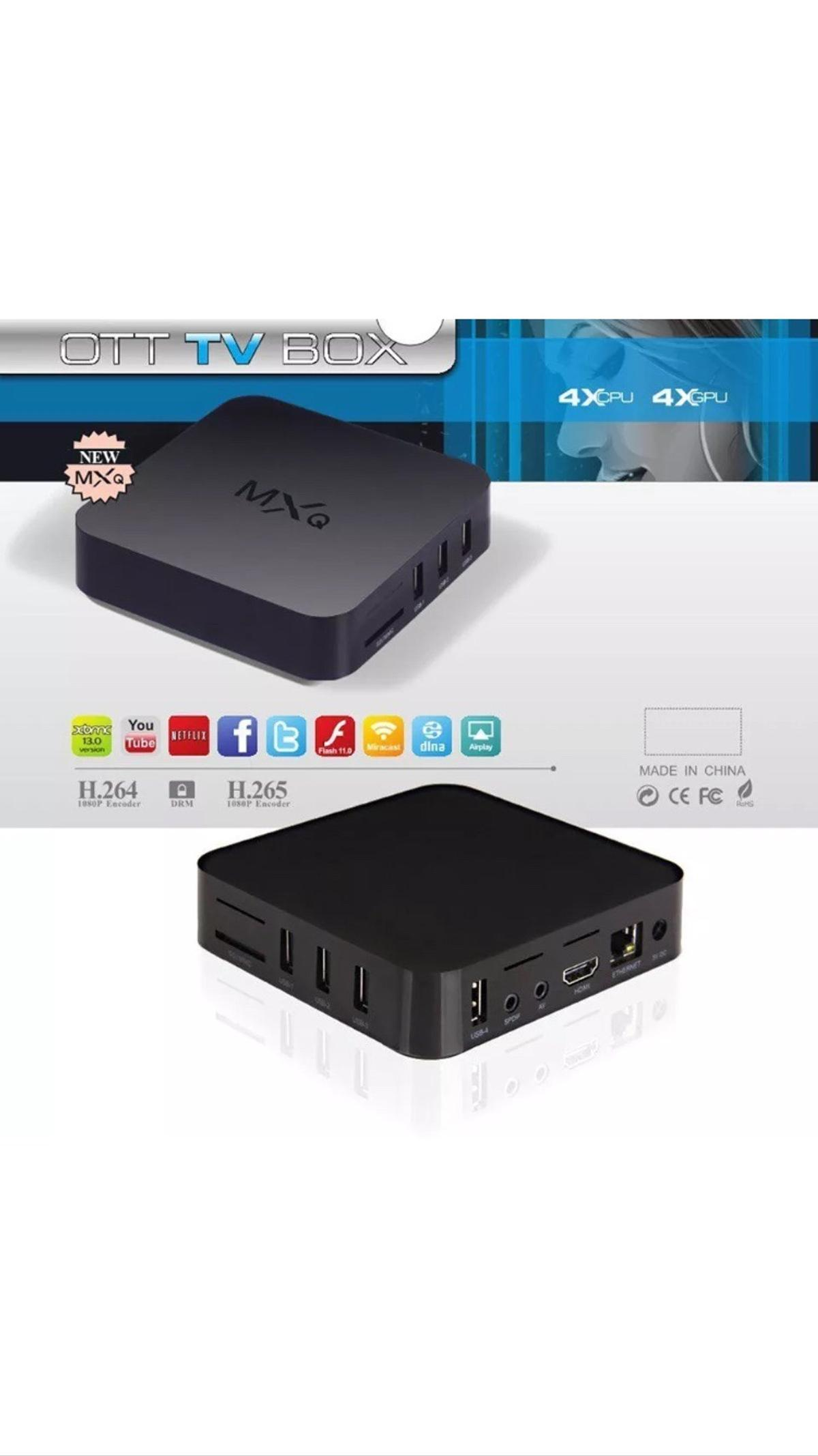kodi mxq android tv box  in B33 Birmingham for £45 00 for