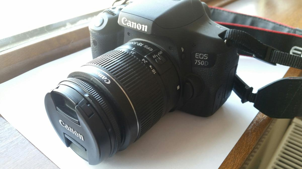 Canon eos 750d dslr camera in WS8 Walsall for £450 00 for