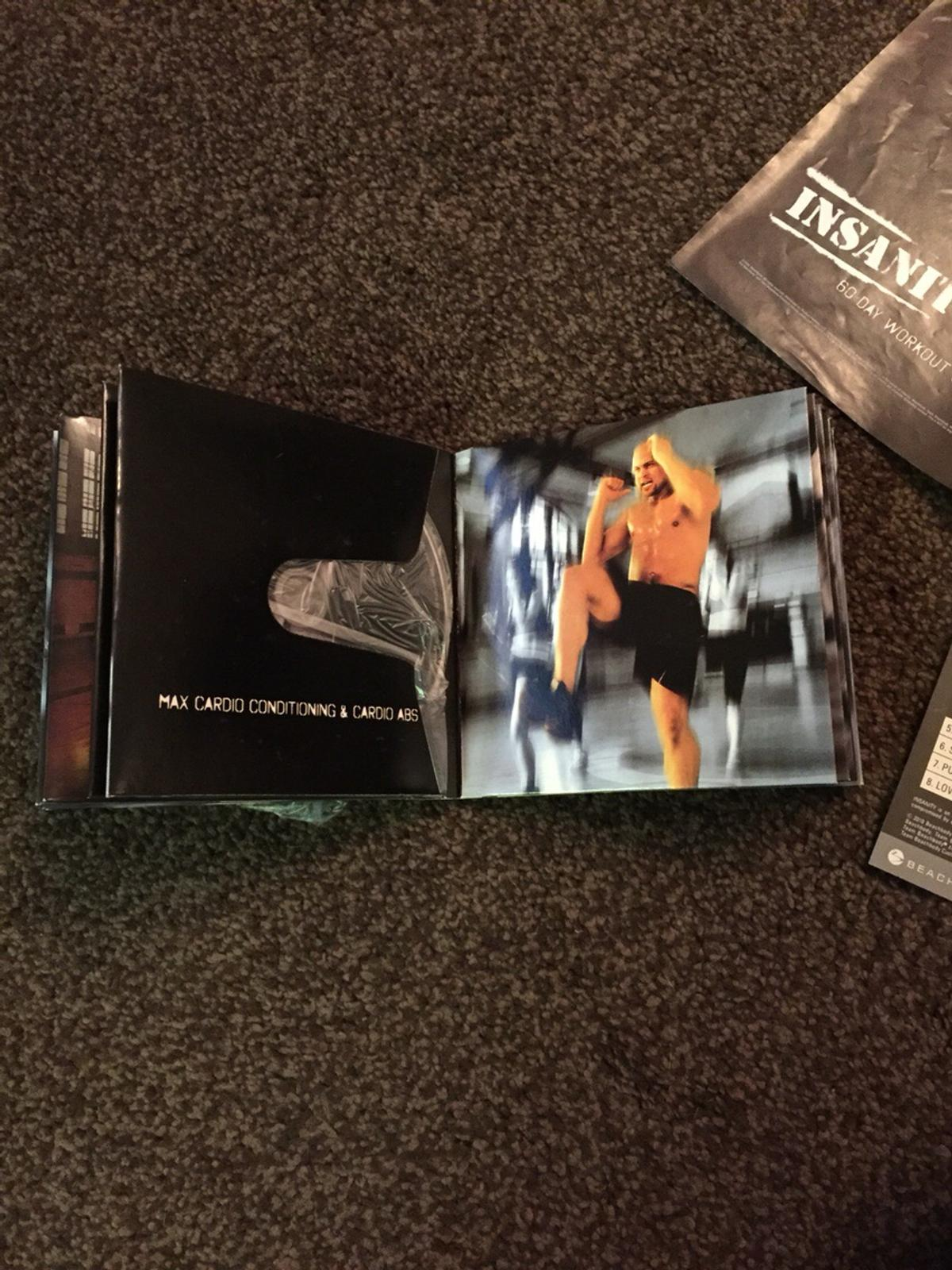 Insanity deluxe DVD workout 14disc set