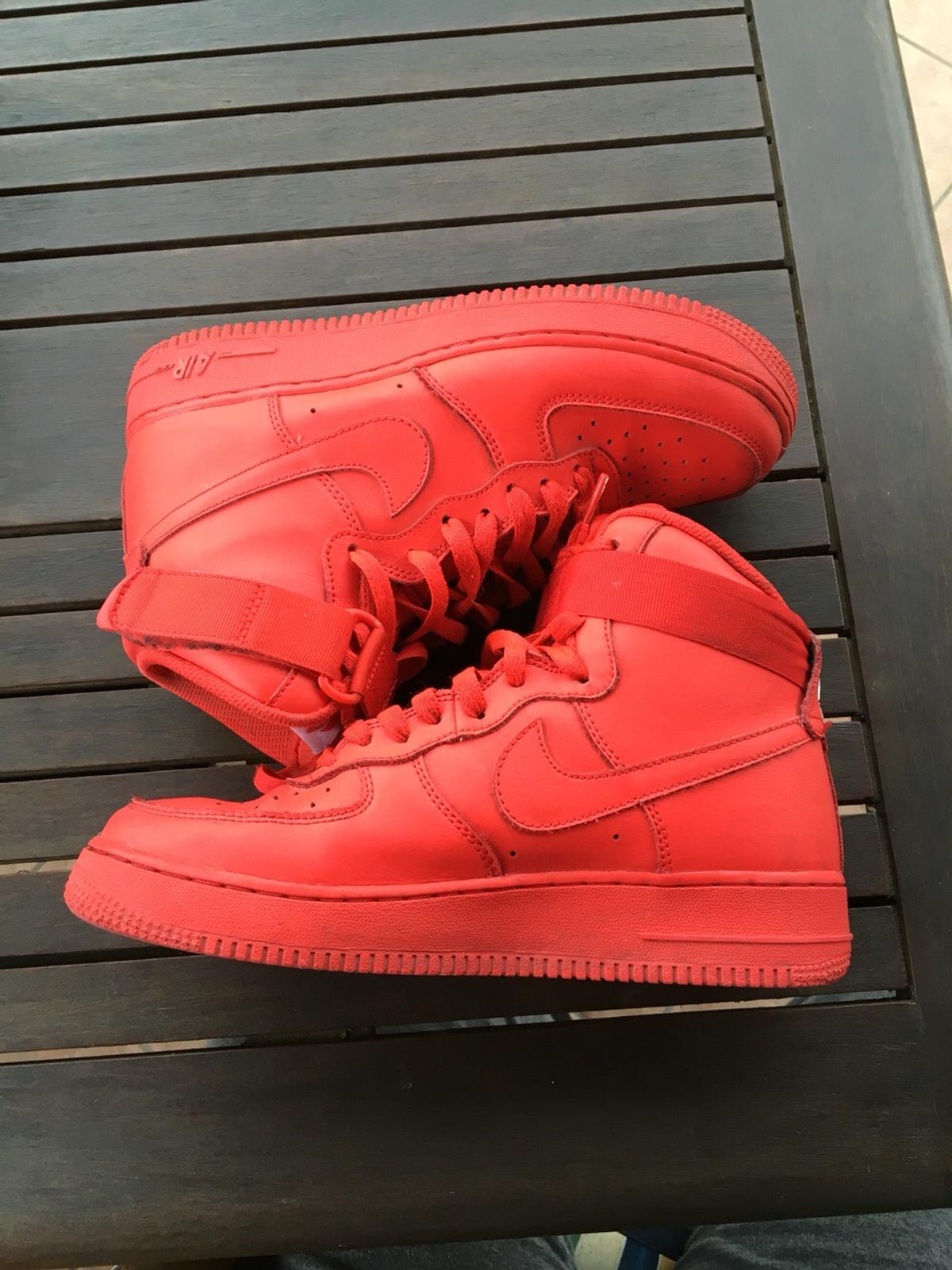 air force 1 rosse alte