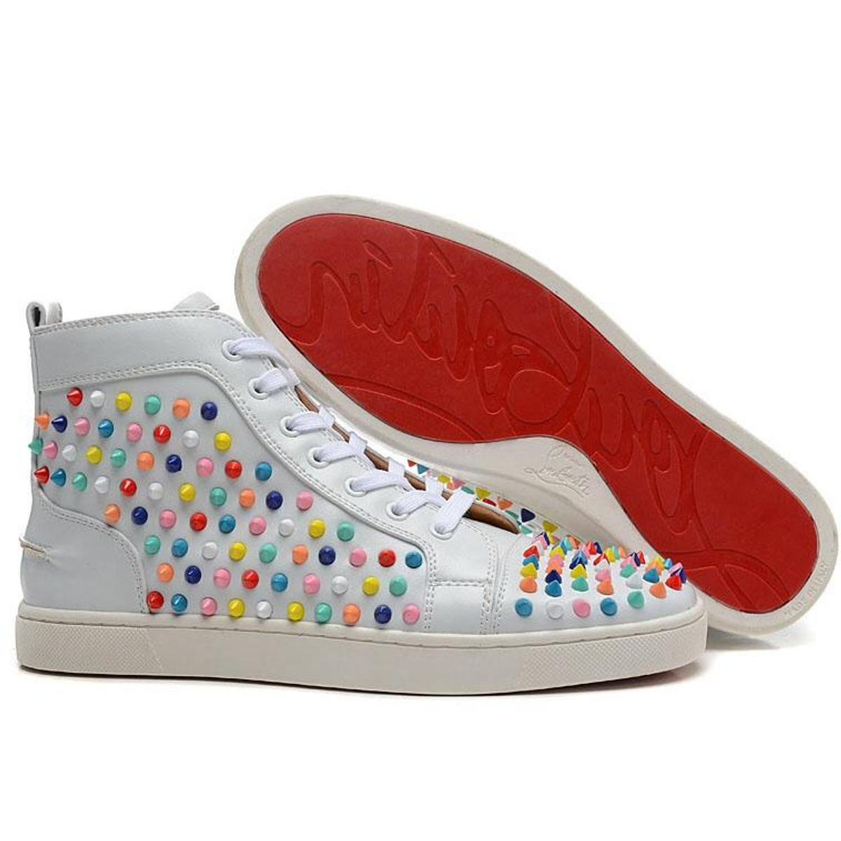 cheap for discount 1c11f 90faf Red bottom sneakers in UB3 London for £150.00 for sale - Shpock
