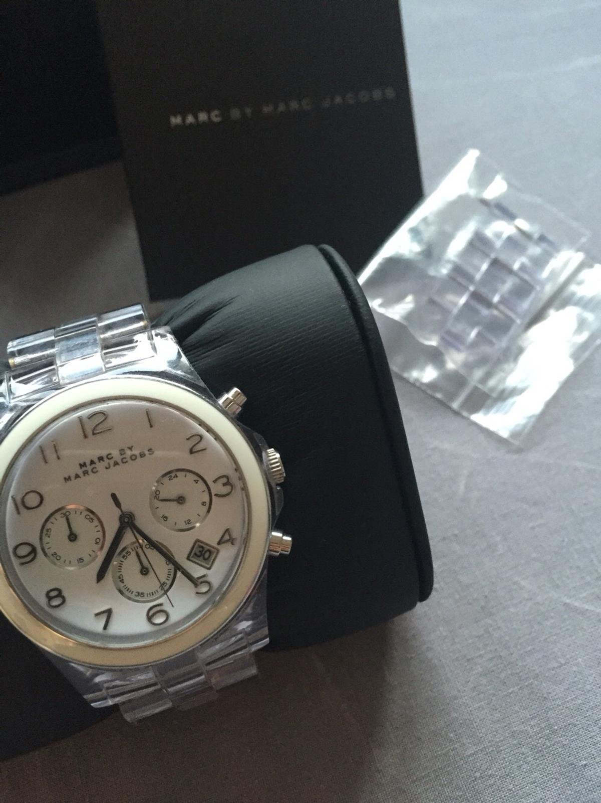 170020abdb6b6 Marc Jacobs Clear Watch with Box & links in Spelthorne for £45.00 ...