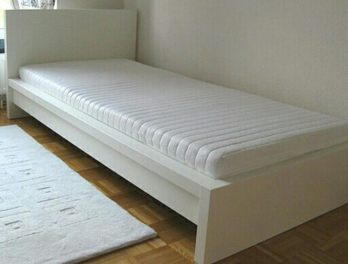 Malm Bett Weiss 90x200 In 67549 Worms For 45 00 For Sale Shpock