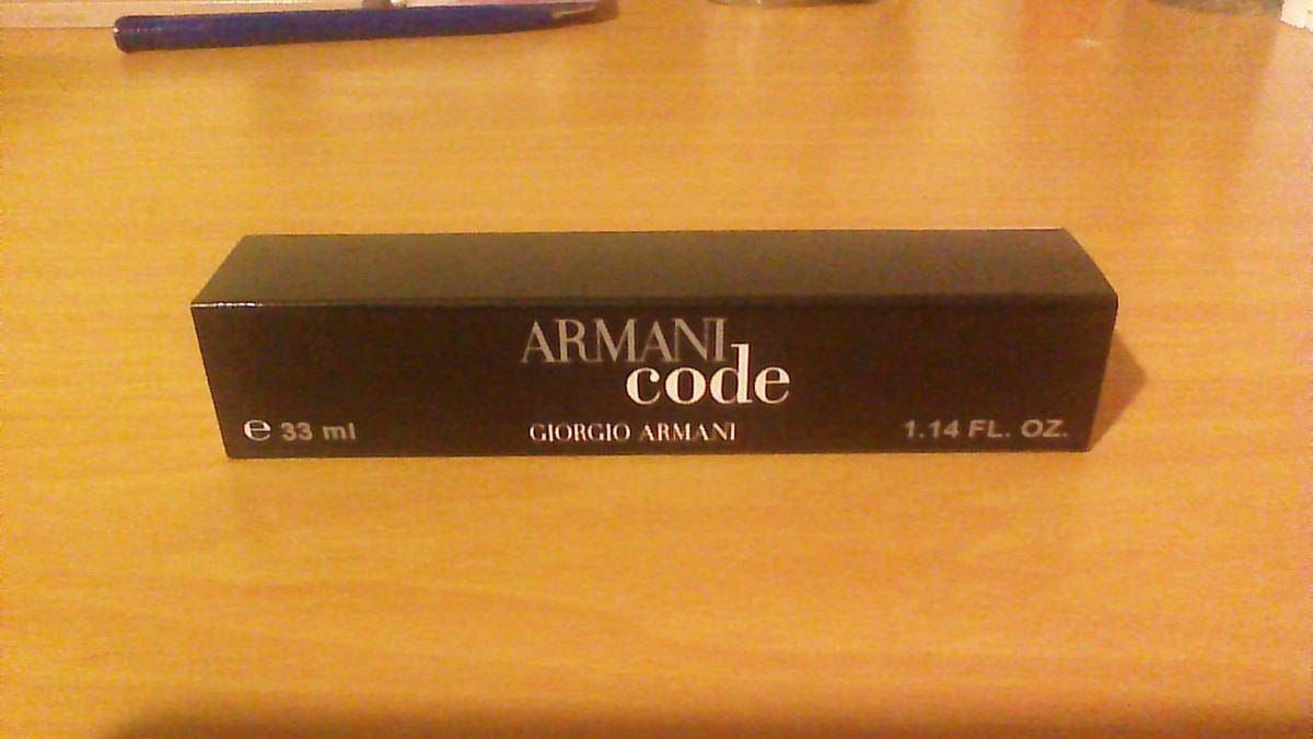 Armani Code Perfum Spray Pocket 33ml WDIHYE92