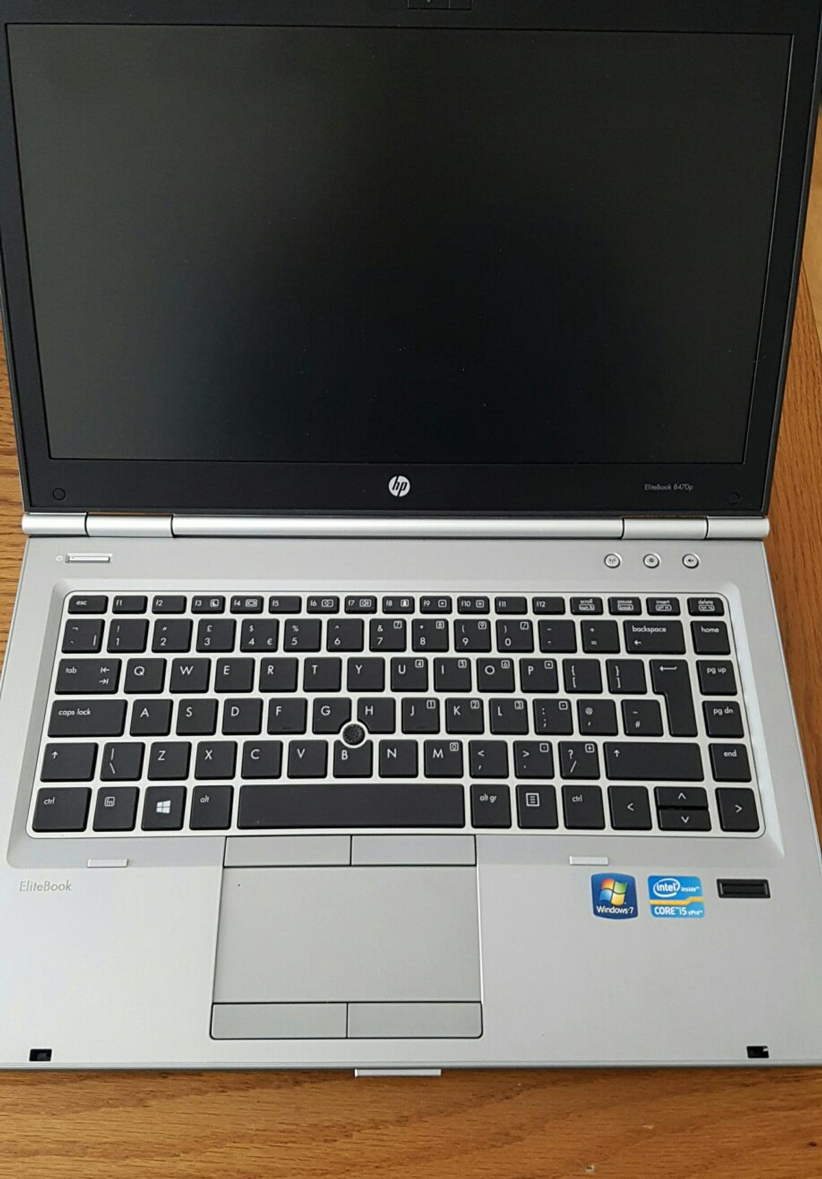 HP EliteBook 8470p Laptop Core i5 in B4 Aston for £220 00