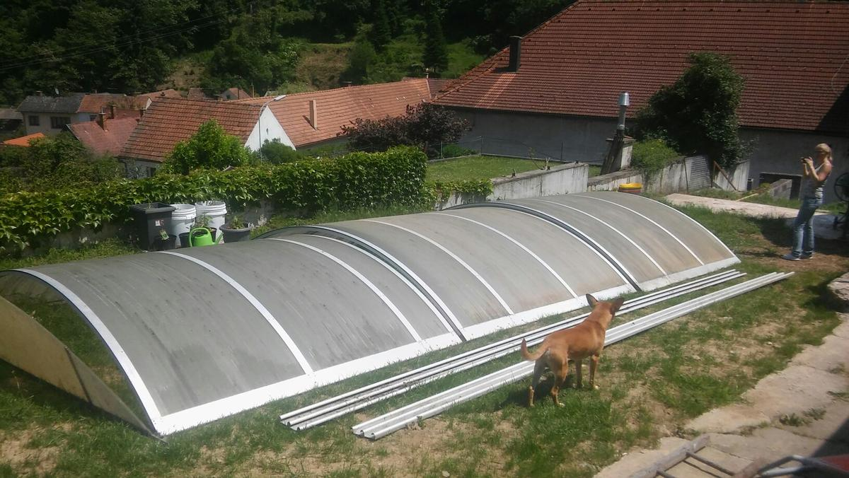 Poolüberdachung in 7221 Marz for €1,200.00 for sale | Shpock