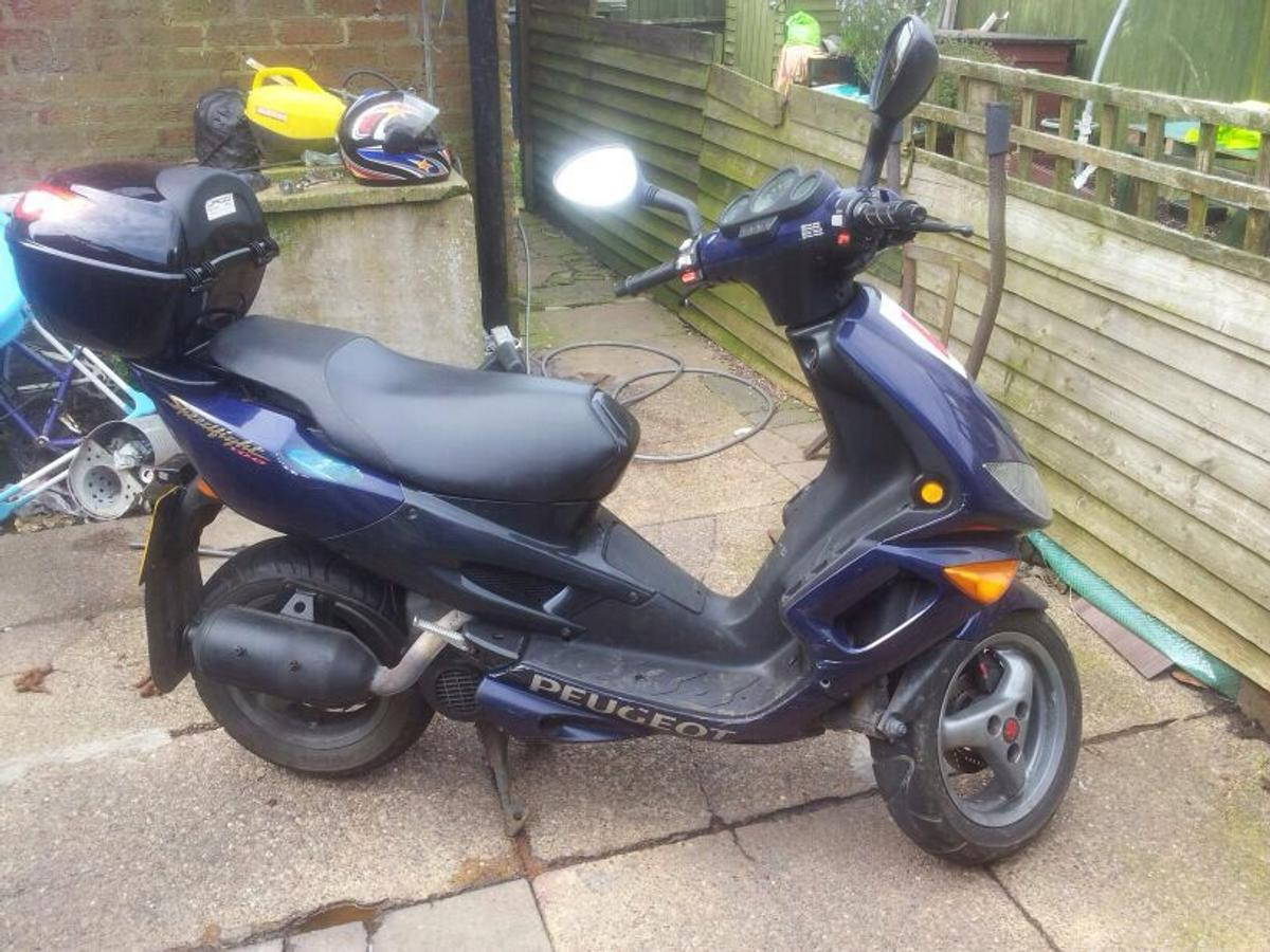 peugeot speed fight 100cc moped