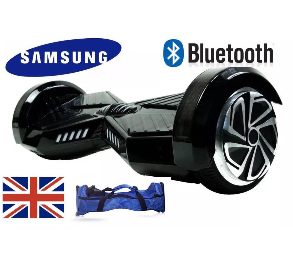 Black hoverboard 8inch bluetooth bag samsung in NW6 London