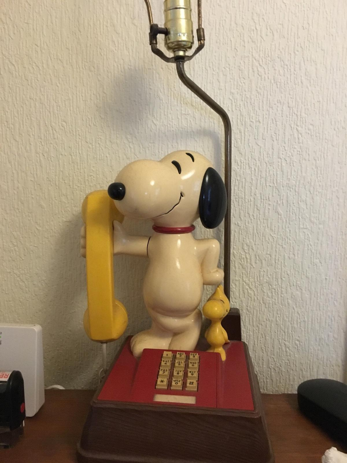 Brilliant Cool Vintage Snoopy Phone Lamp 1970S In E9 London For 90 00 For Wiring Database Numdin4X4Andersnl