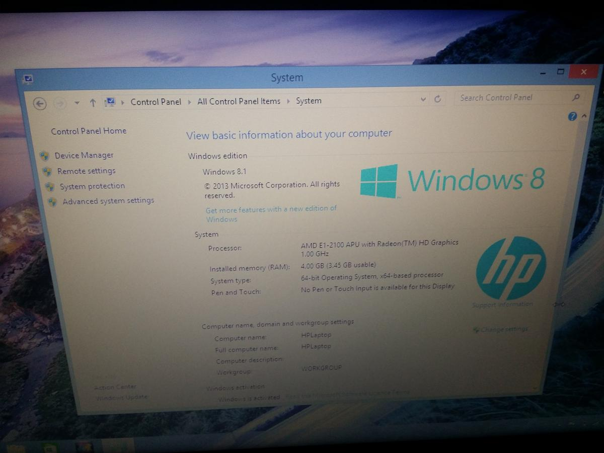 HP 255 G3 Laptop in SW4 London for £185 00 for sale - Shpock