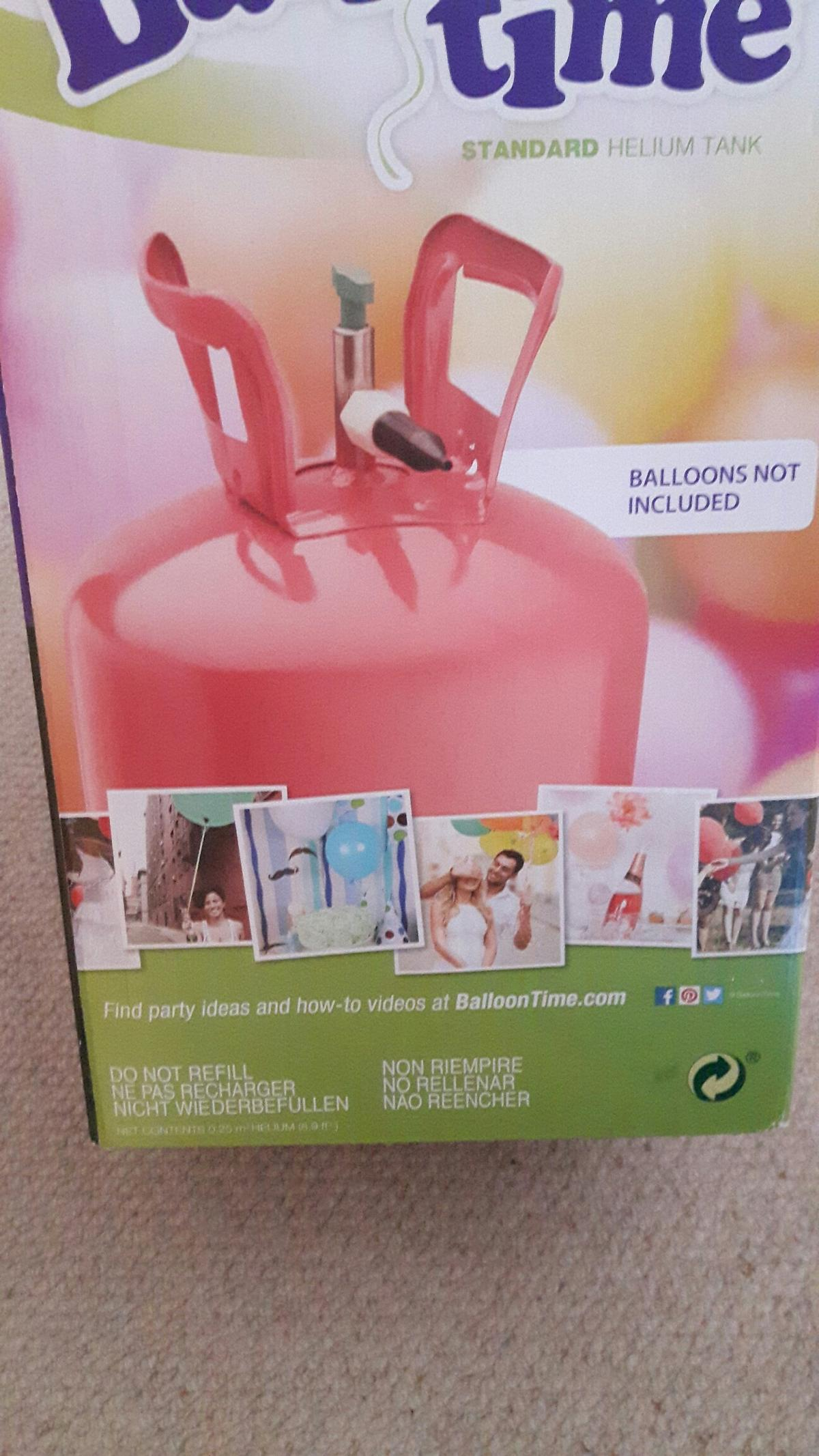 A brand new, boxed helium canister in Wigan for £15 00 for sale - Shpock