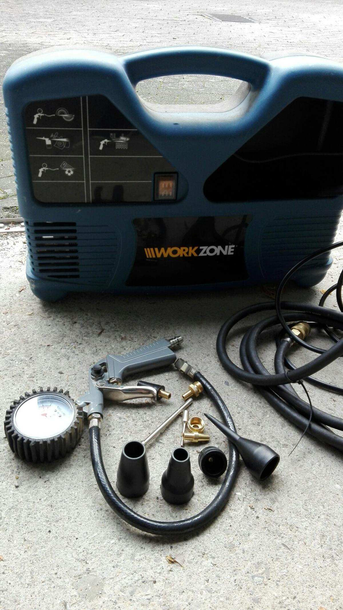 Sehr WorkZone Kompressor WZK 183 in 56170 Bendorf for €40.00 for sale DY79