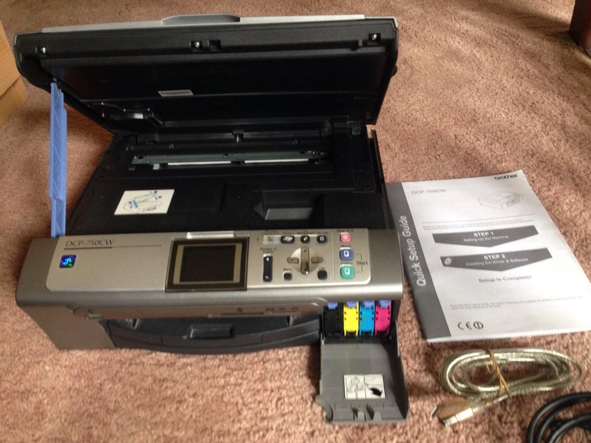 BROTHER DCP-750CW USB PRINTER DRIVER FOR WINDOWS 7