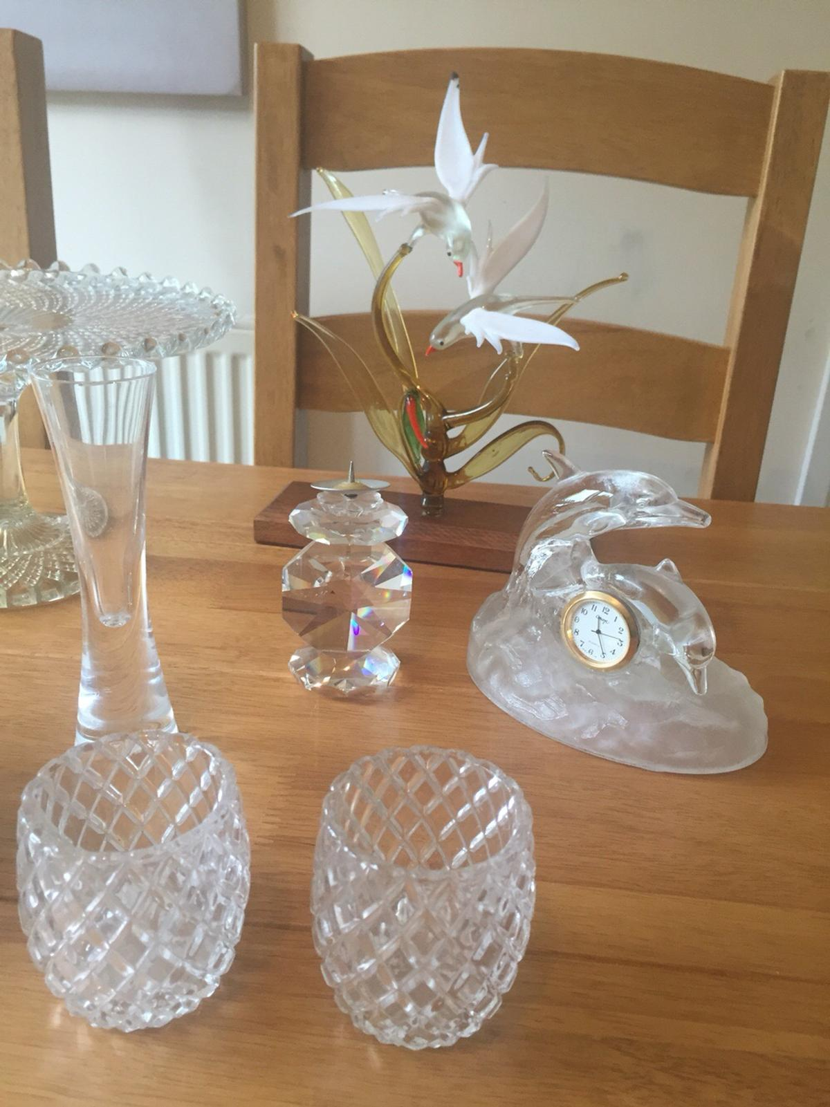 Collection of vintage glass/crystal in Biggleswade for