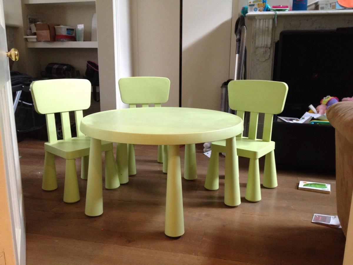 Groovy Ikea Mammut Kids Plastic Table And 3 Chairs Unemploymentrelief Wooden Chair Designs For Living Room Unemploymentrelieforg