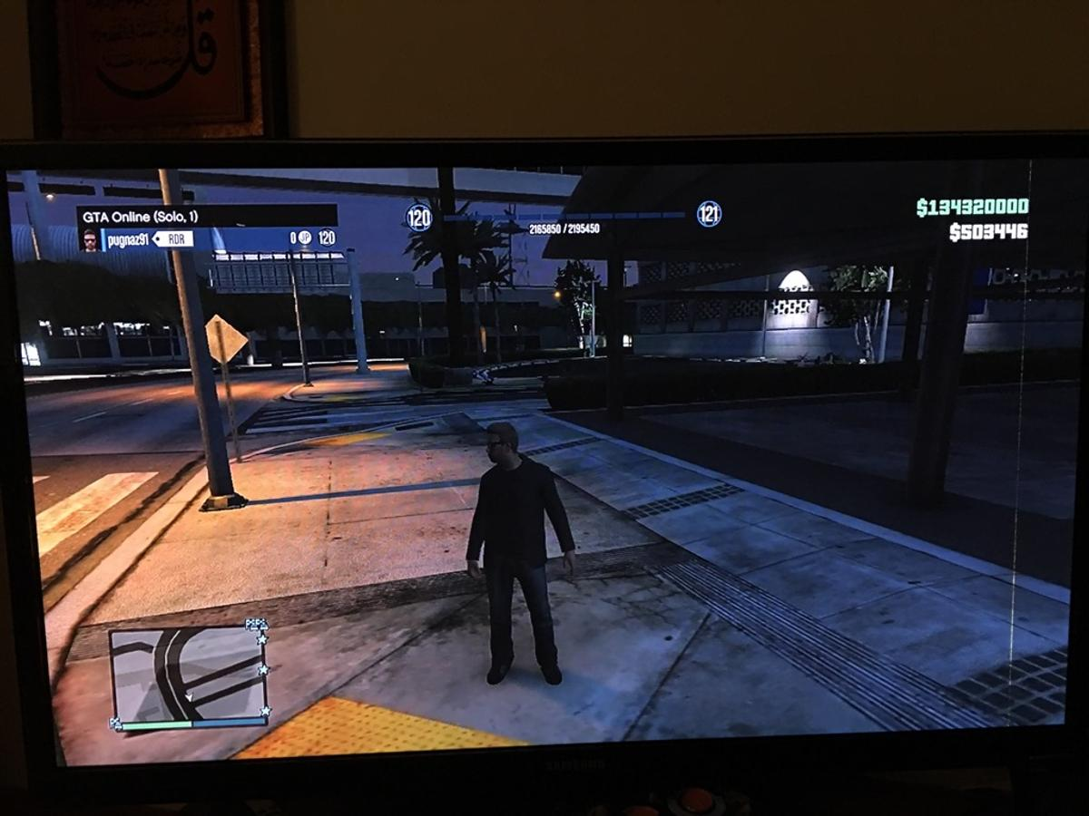 GTA 5 Online Level RP Money Geld Mod PS4/3