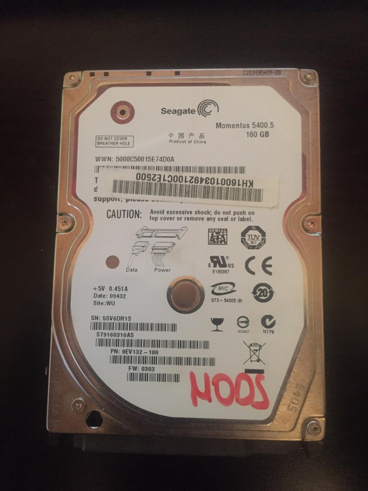 Modded PS3 hard drive