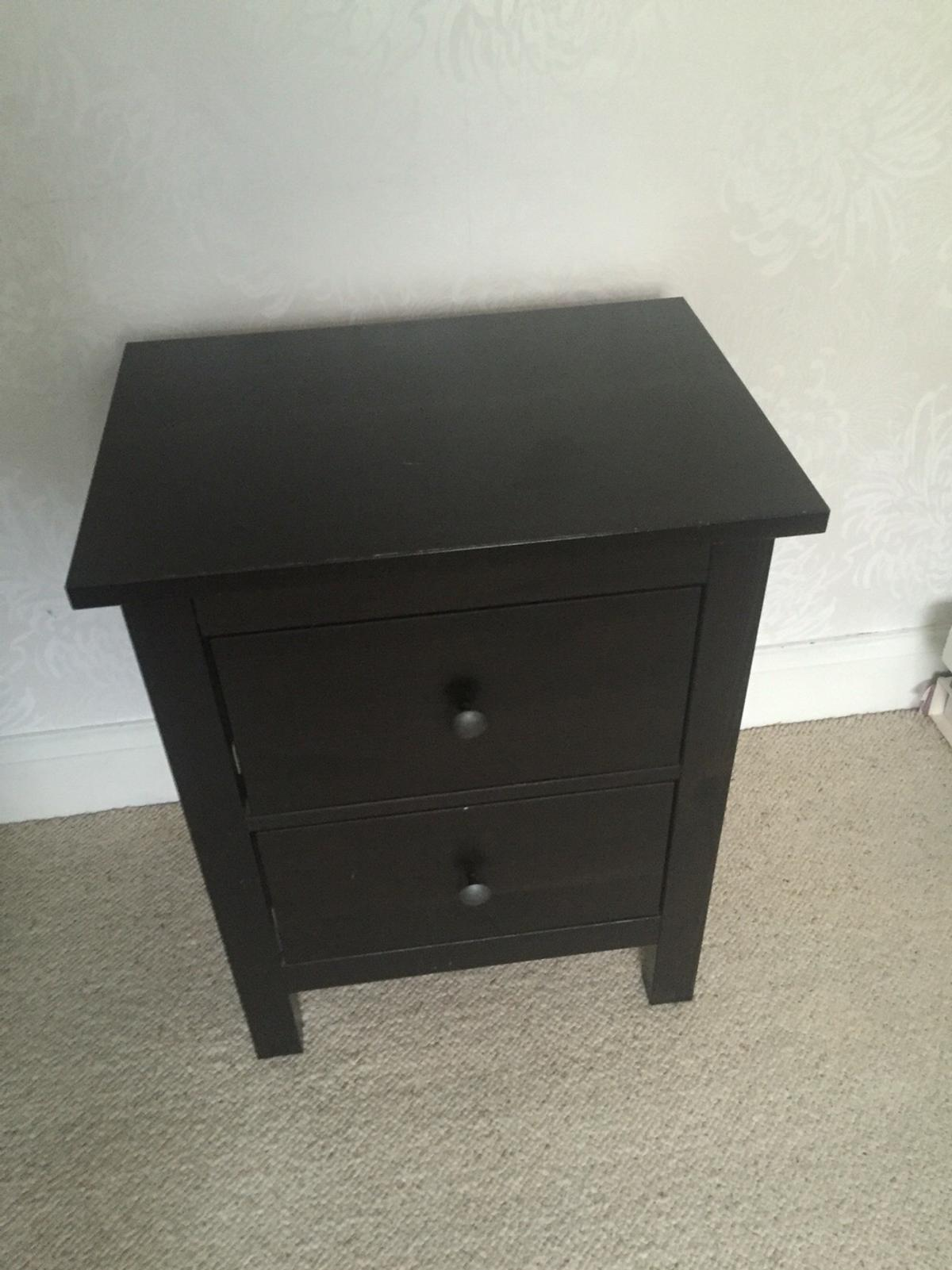 Ikea Hemnes 2 Drawer Bedside Table