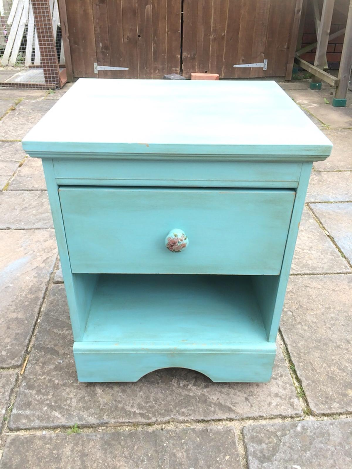 Up Cycled Shabby Chic Bedside Table Drawer