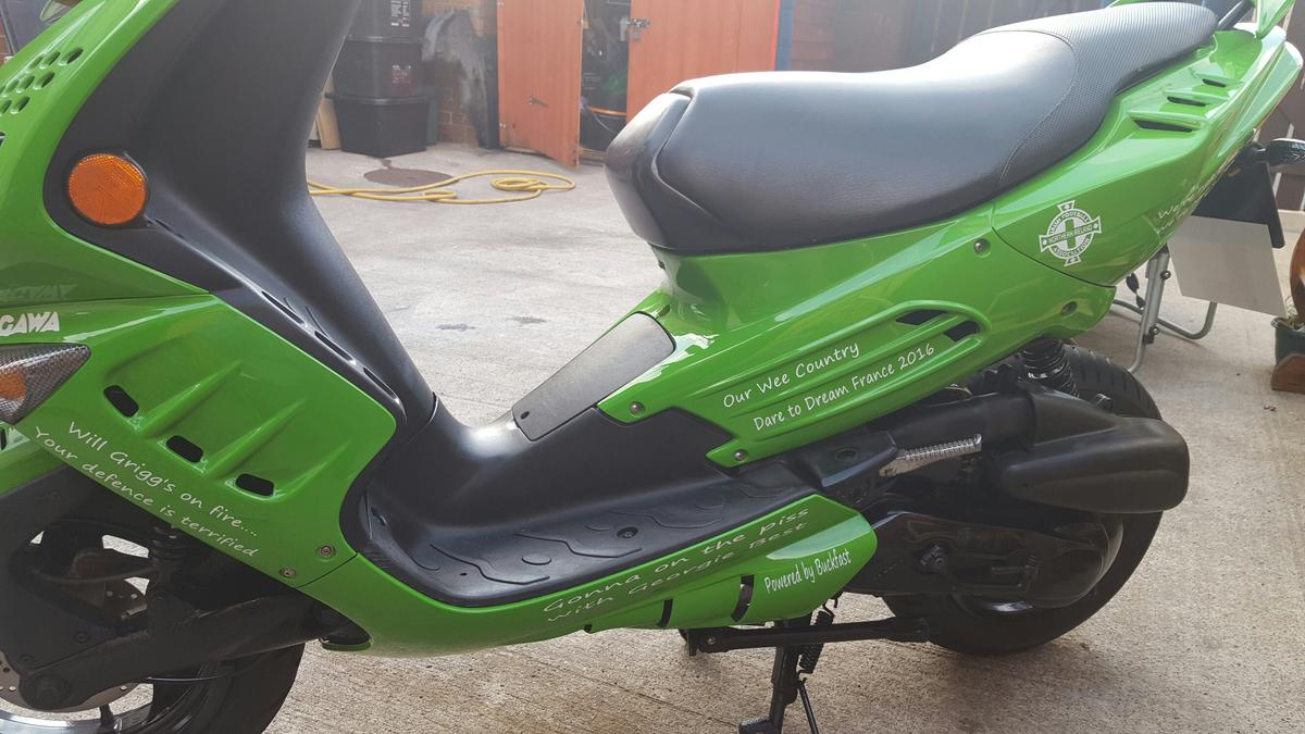 Peugeot speedfight 100cc gawa scooter moped in BT6 Belfast for