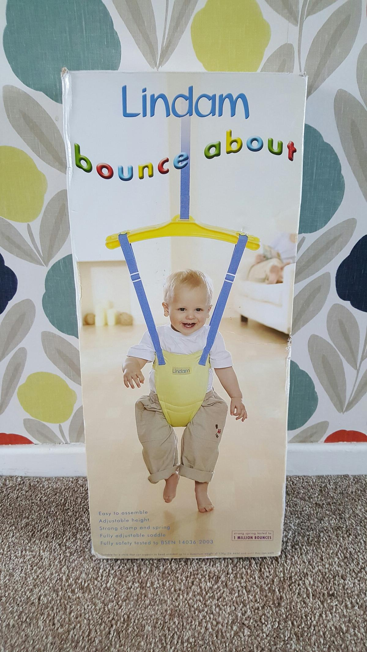 2f6f583d2 Lindam Bounce About Baby Door Bouncer Jumper in ST5-Lyme for £5.00 ...