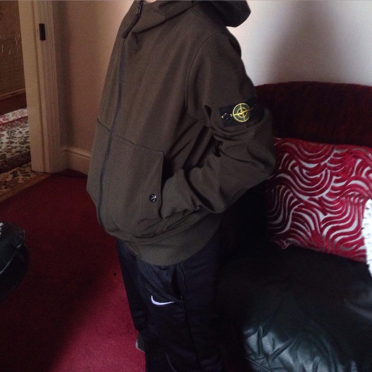 bf073d89fd Stone island junior soft shell khaki jacket in OL12 Rochdale for ...