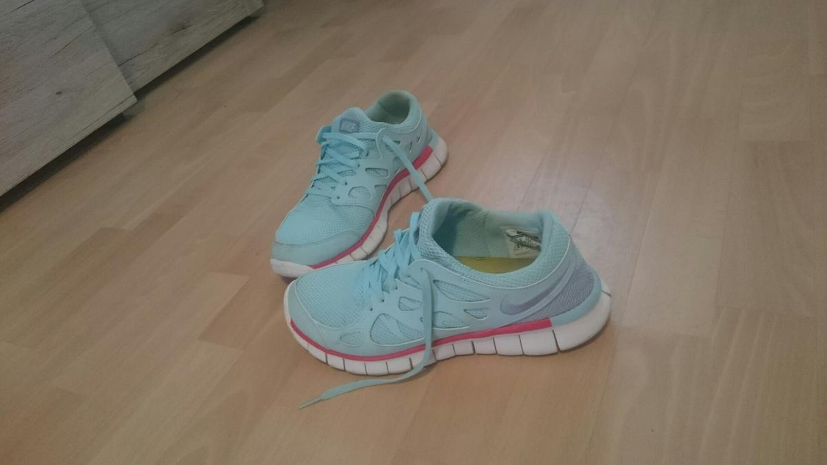 quality design 148e9 8db17 Nike Free Run 2 hellblau/türkis Gr. 42.5 in 18107 Rostock ...