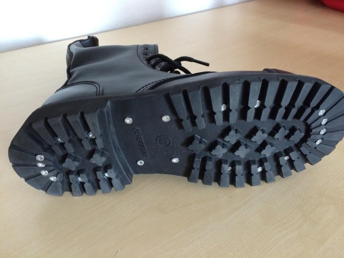 ANGRY ITCH 3 Loch Gothic Punk Army Ranger Armee Leder Schuhe mit Stahlkappe