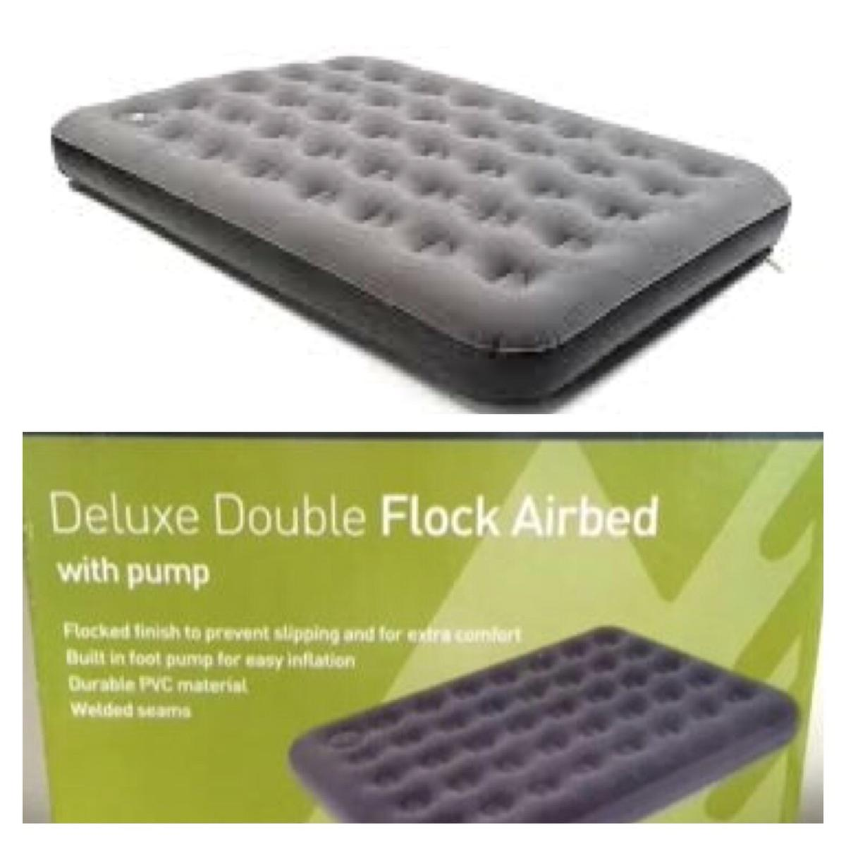 195e6d642efa9 EUROHIKE DELUXE DOUBLE FLOCKED AIRBED NEW in B2 Birmingham for £8.00 ...