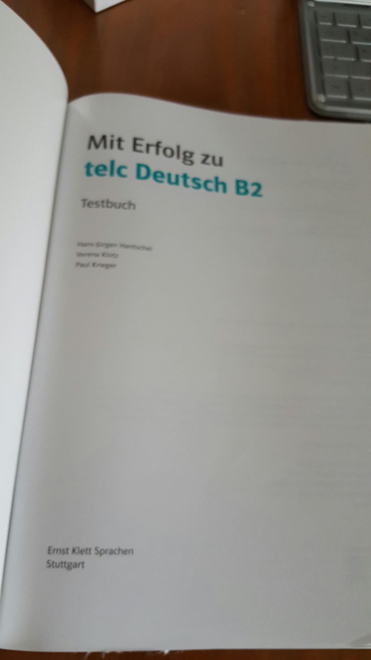 Zertifikat Telc Deutsch B2 Cd In 70563 Stuttgart For 1700 For