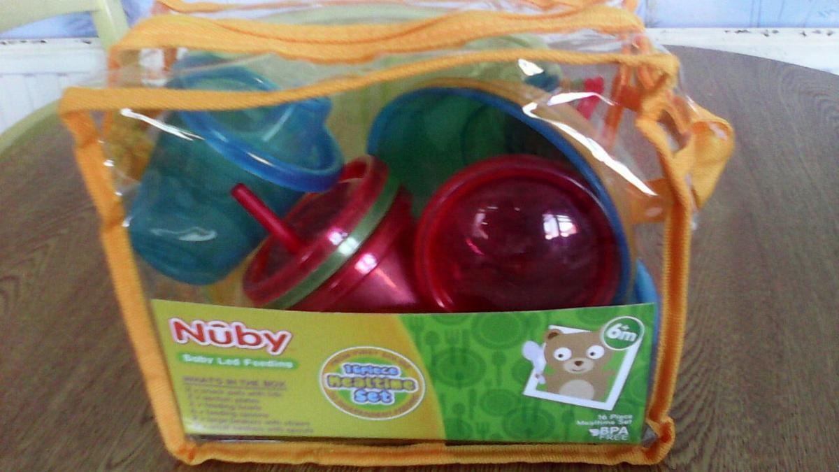 6a5db04eaee Babys Nuby mealtime 16 piece set new in NG5 Nottingham for £4.00 for ...