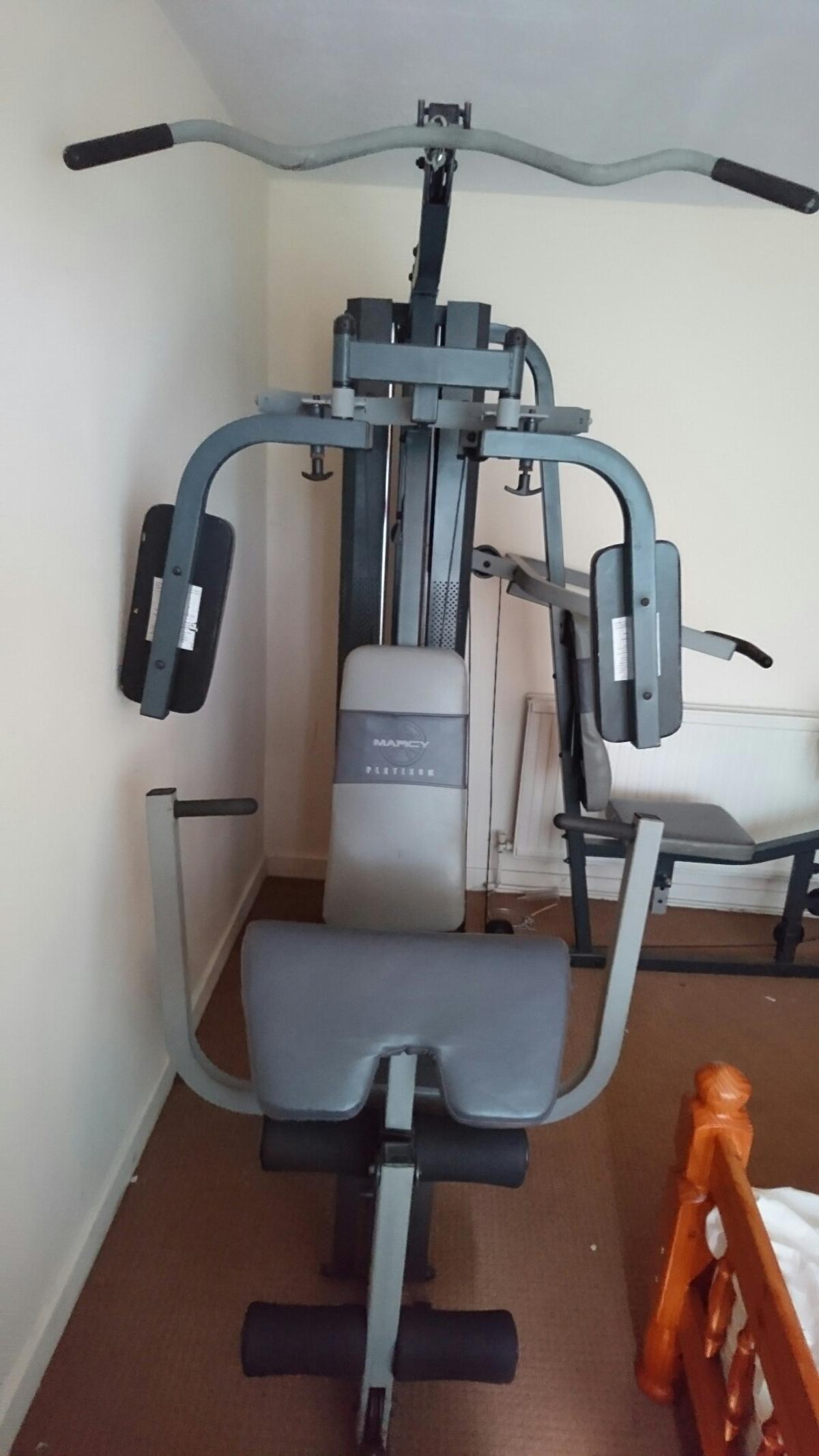 Complete home gym  Marcy Platinum dual  in Hinckley and Bosworth for