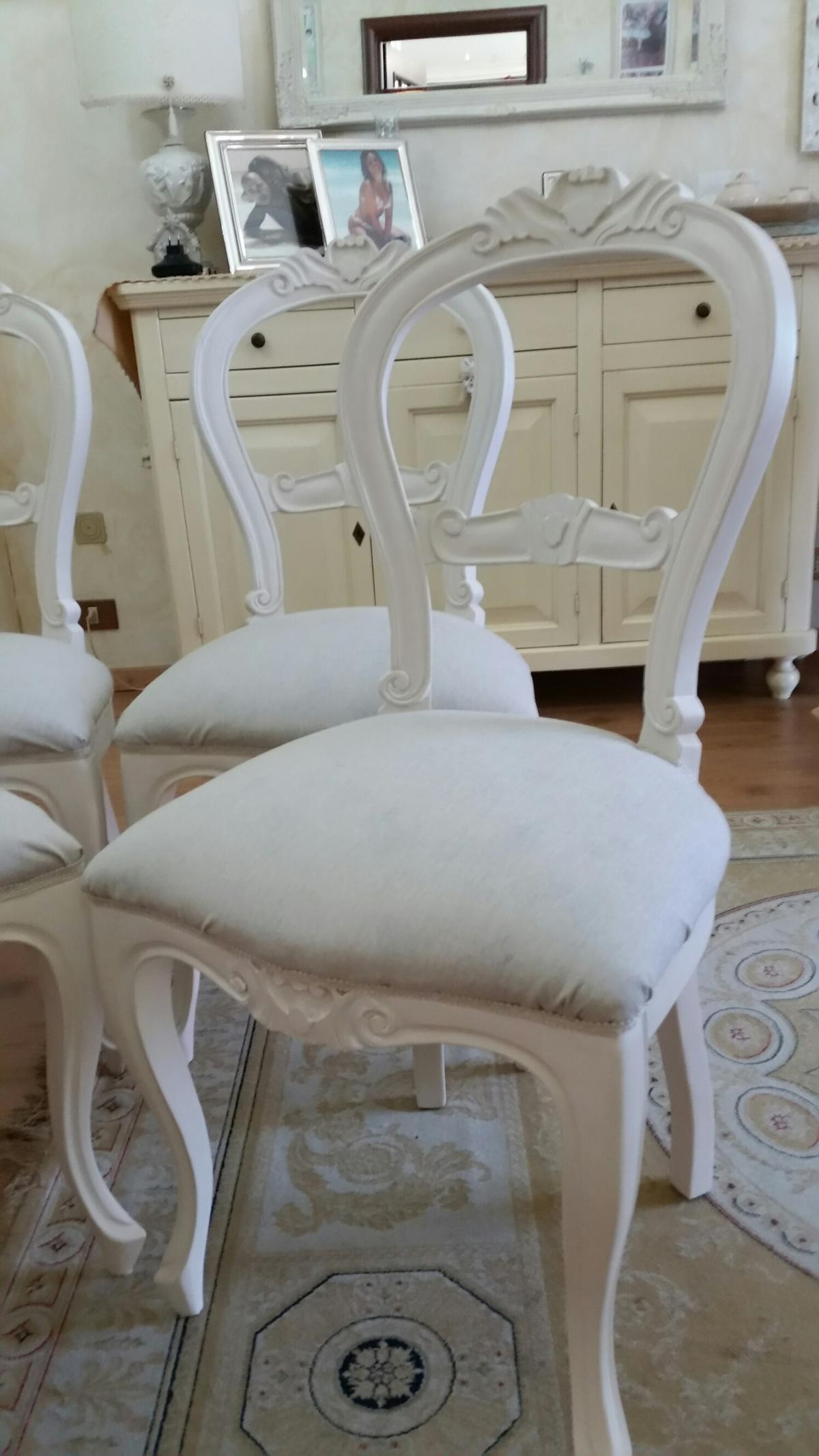 Sedie Stile Shabby Chic.Sedie Shabby Chic In 00169 Roma For 240 00 For Sale Shpock