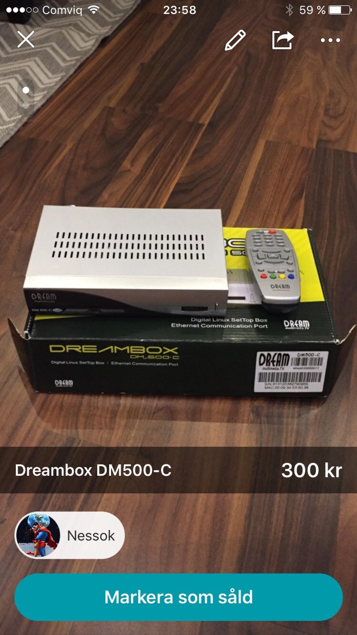 Dreambox DM-500-C