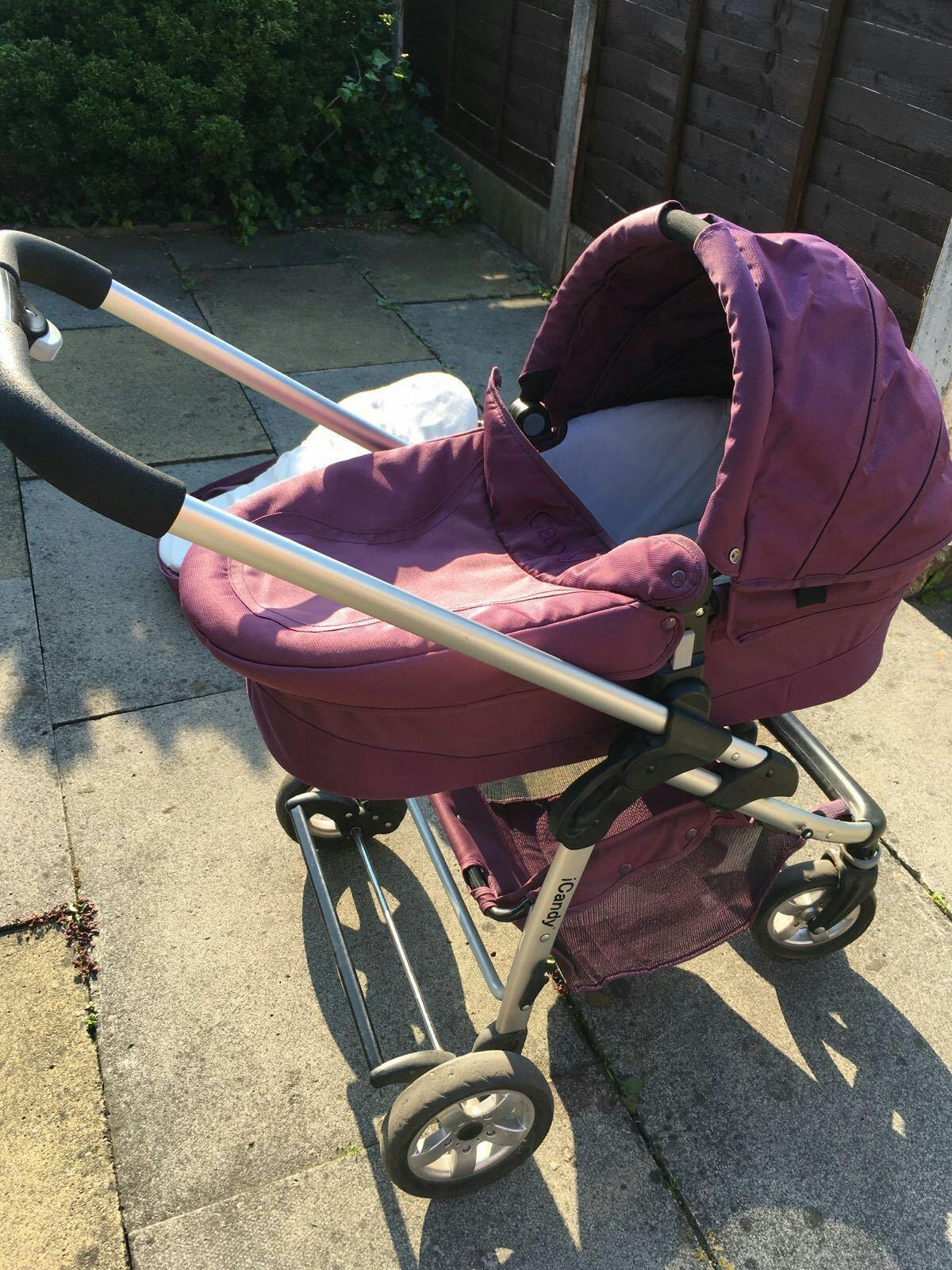 Icandy Cherry pram/buggy in SE15 London for £70 00 for sale