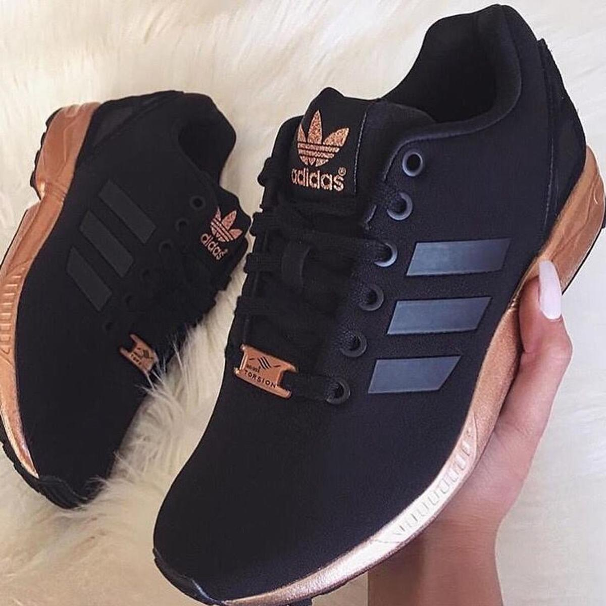 78982f20c964 Rare Adidas Torsion ZX Flux Black   Rose Gold in RM19 Purfleet for ...
