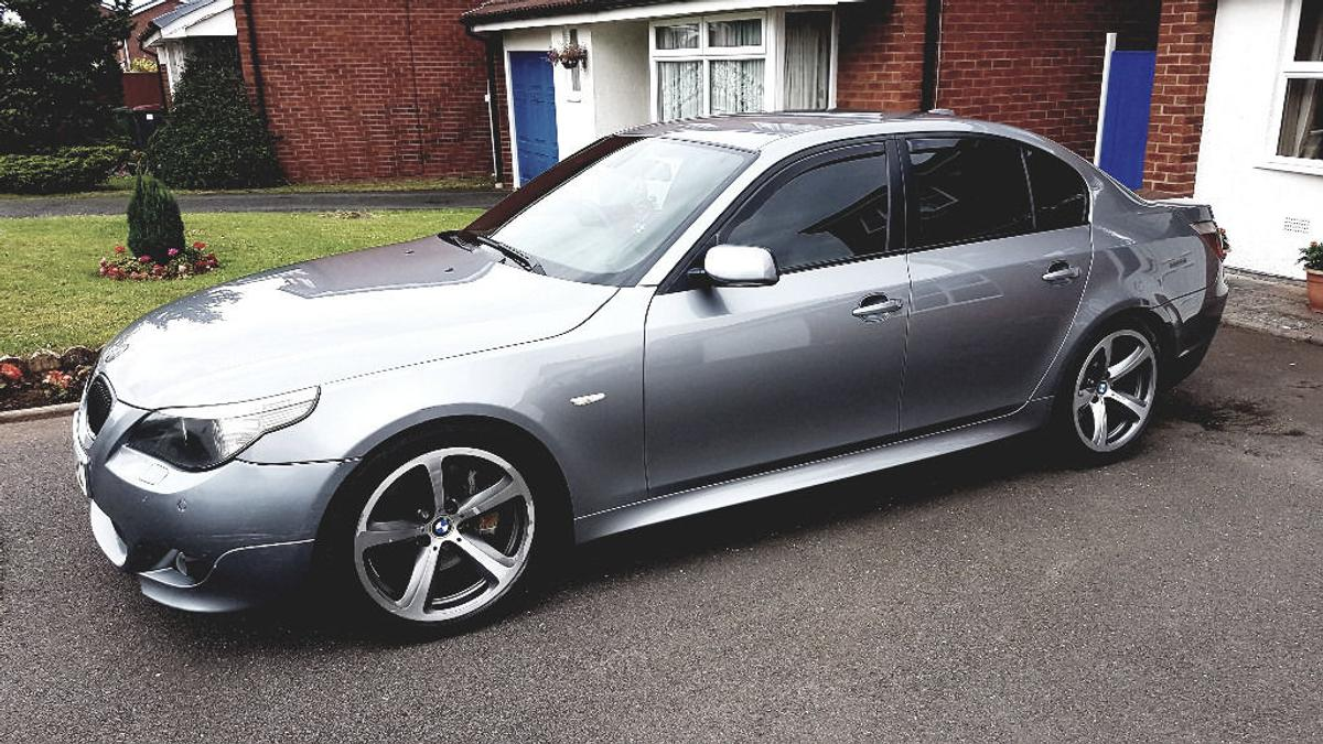 BMW E60 535d Sport 3 0 Twin Turbo Auto 4dr in TF1 Apley for