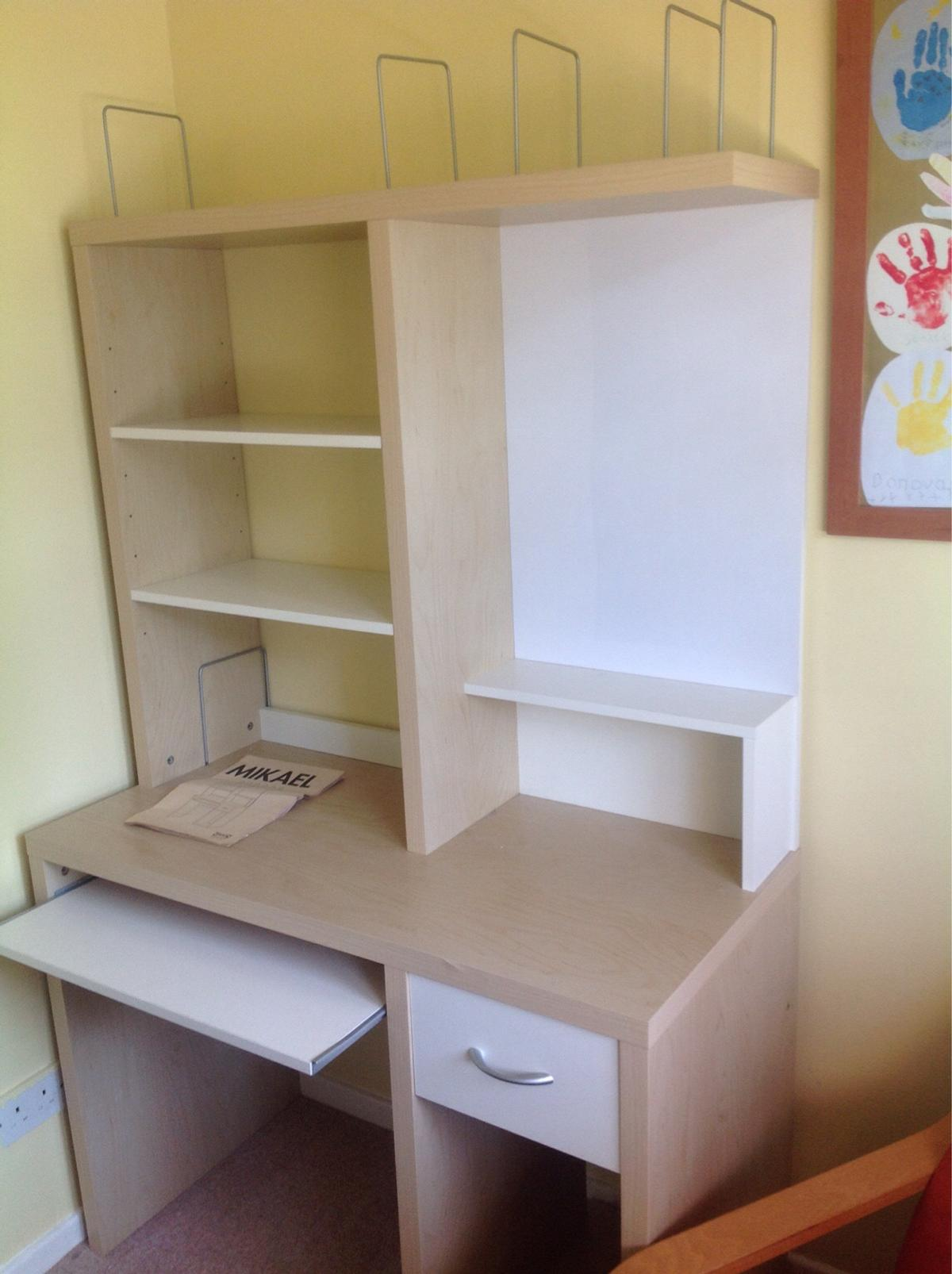 Ikea Mikael Desk Office Unit In Sm7 Banstead For 25 00