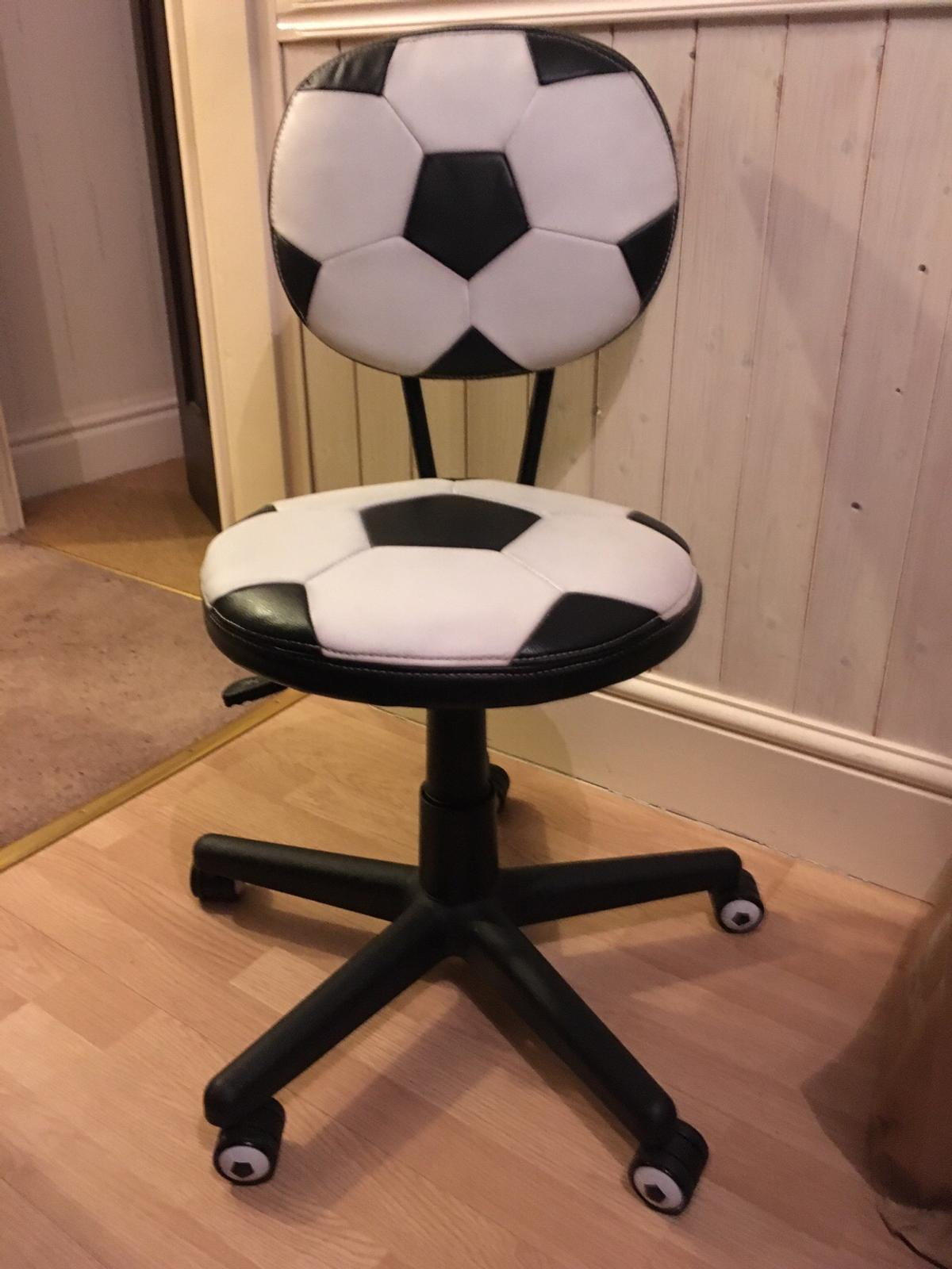 Superb Office Desk Chair Football Pattern In B75 Coldfield For Pdpeps Interior Chair Design Pdpepsorg