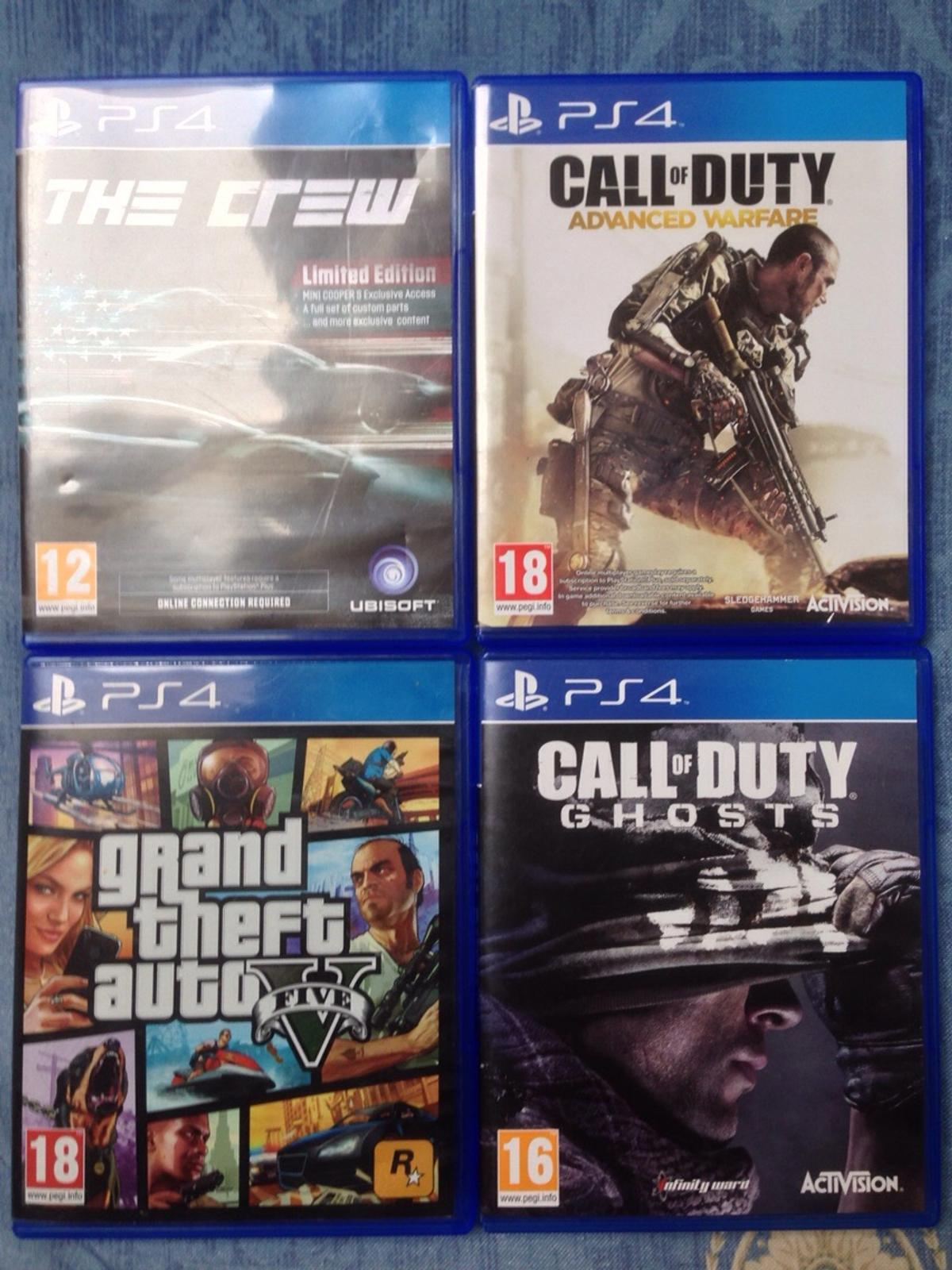 Ps4 Games Gta 5 Call Of Duty Ghosts Aw In Bd8 Bradford For 40 00 For Sale Shpock