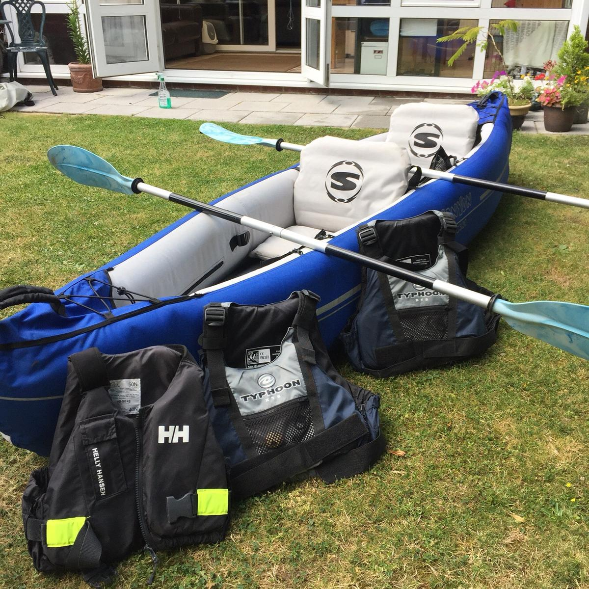 Inflatable Kayak Boat Sevylor Canyon SC320 in SS11 Wickford