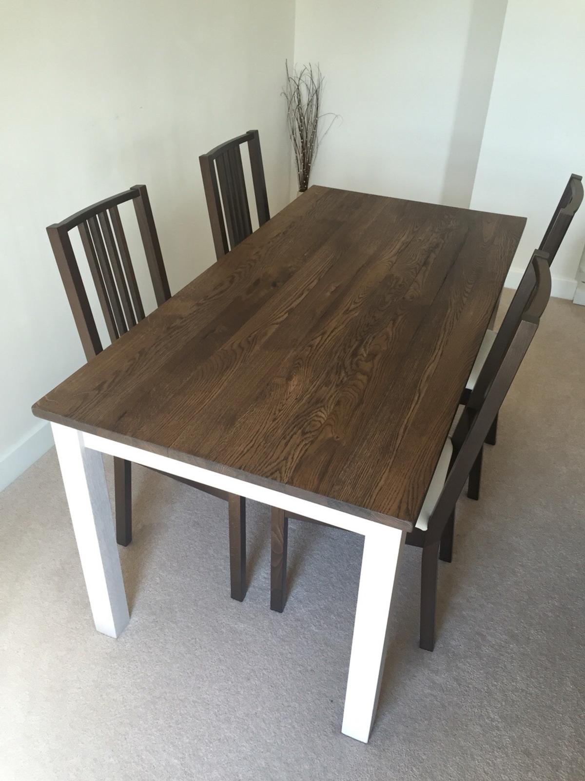Pleasant Ikea Kejsarkrona Dining Set Oak White In E16 London For Ocoug Best Dining Table And Chair Ideas Images Ocougorg