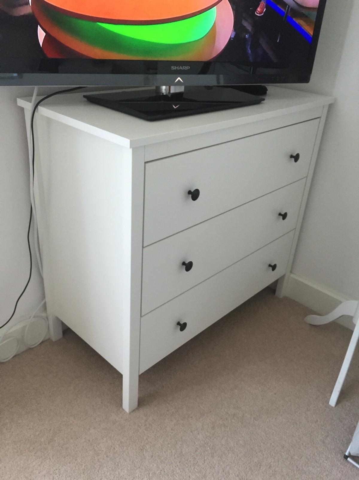 brand new 64d70 6d99c IKEA Koppang White chest of 3 drawers in E16 London for ...