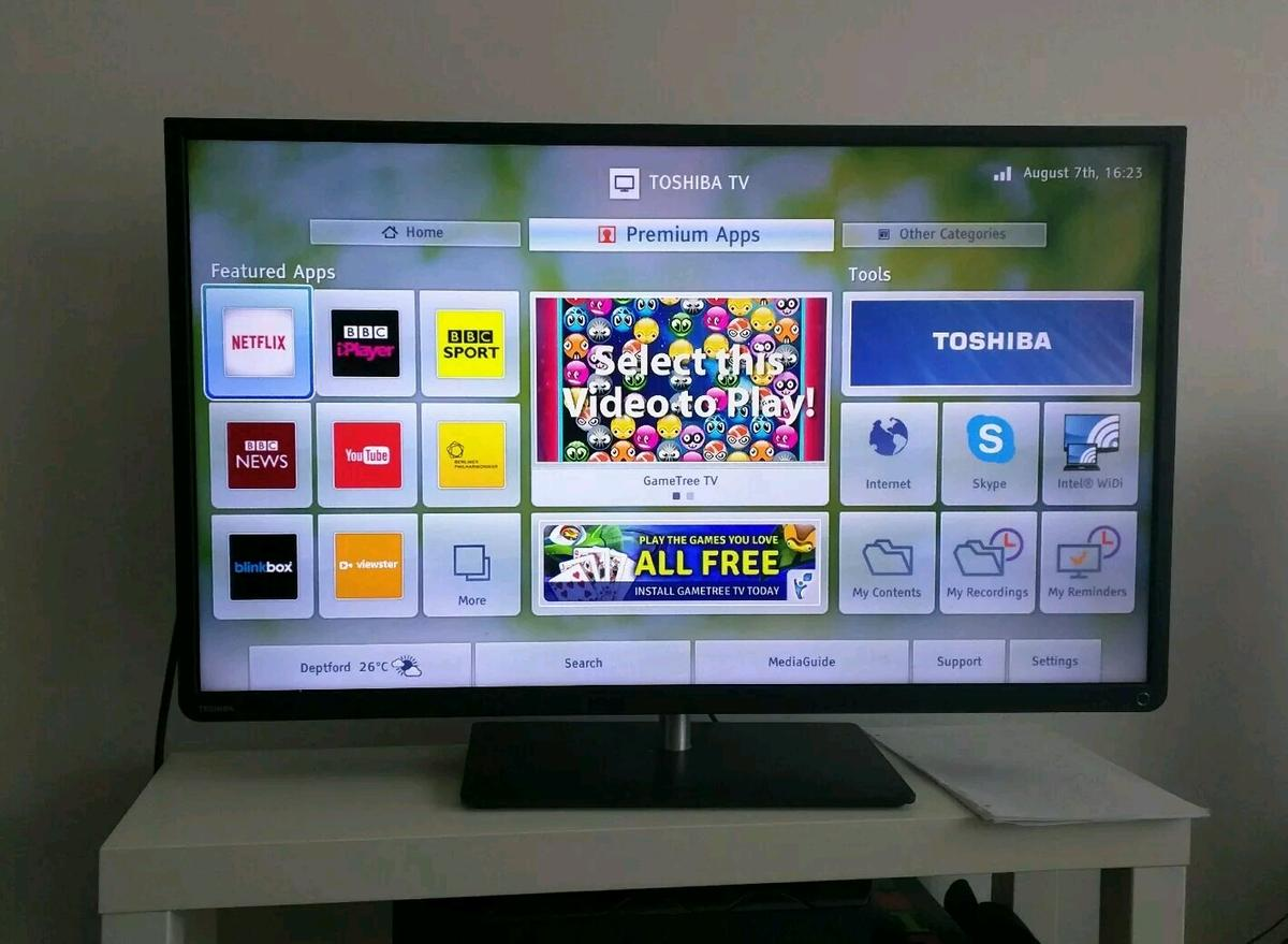 Toshiba 39L4353D 39'' smart TV with WiFi