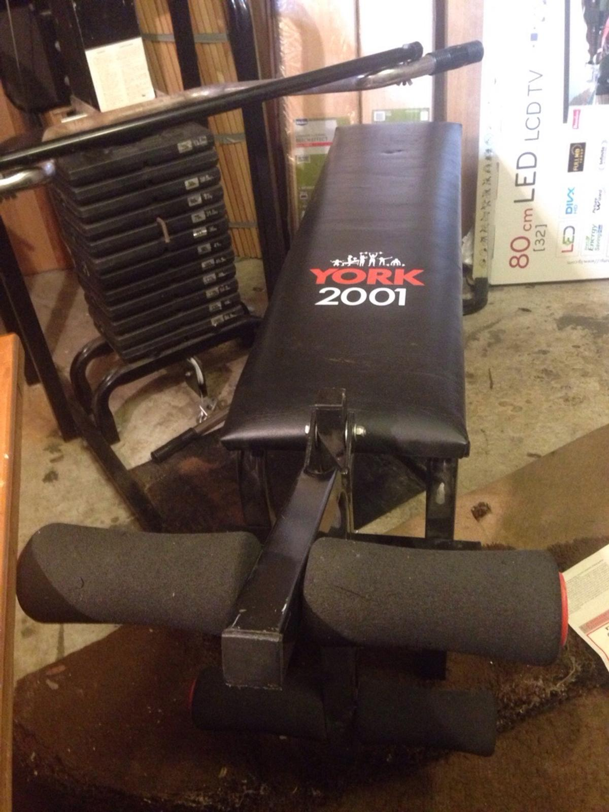 York 2001 Multigym FREE in BR2 Bromley for free for sale