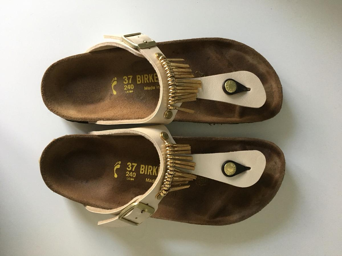 competitive price 14e2d 7cc93 Birkenstock Gizeh (Pearl White Fringe) in 49080 Osnabrück ...