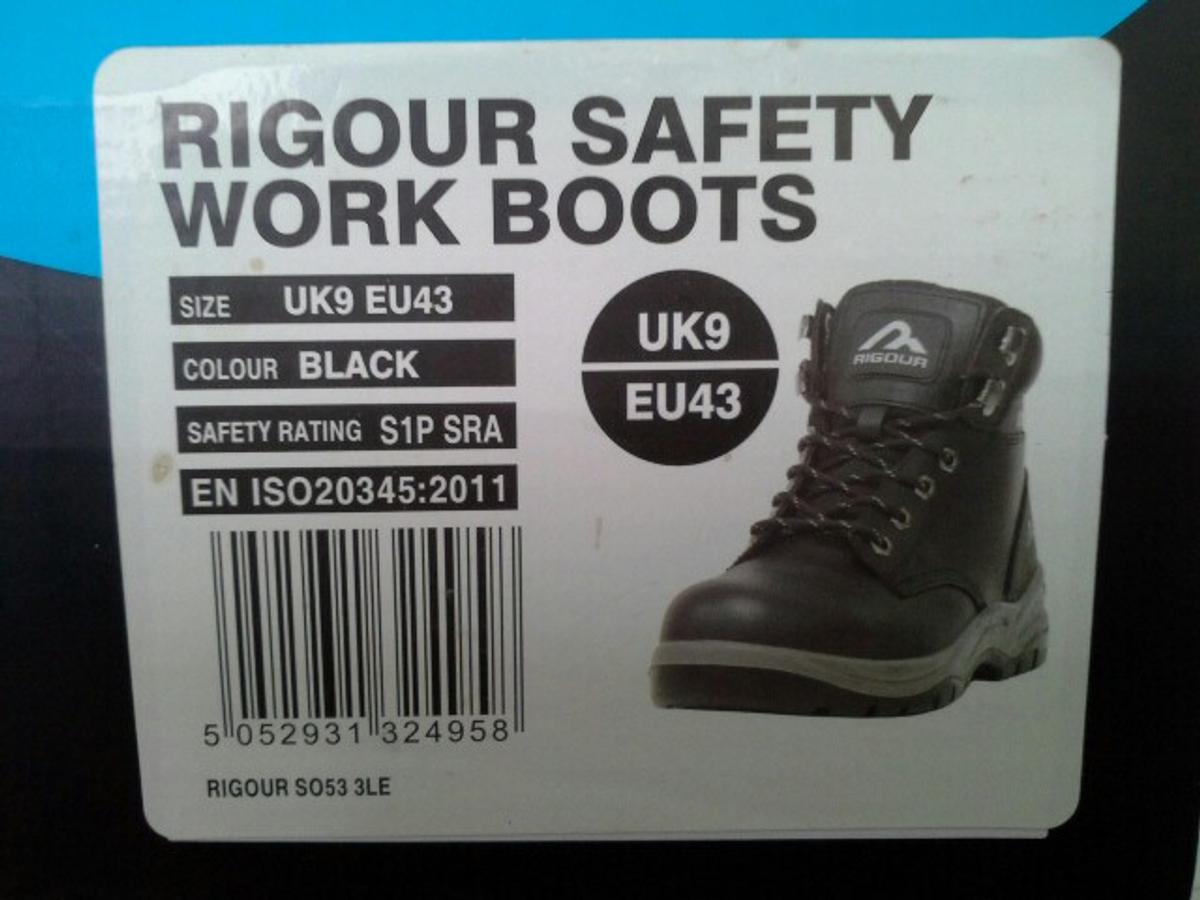 eff52363411 Rigour safety work boots in OL2 Shaw for £4.00 for sale - Shpock